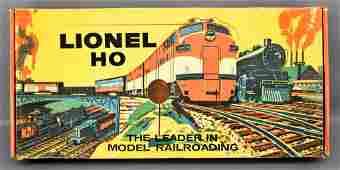 Lionel postwar HO 5705 diesel switcher freight set in