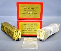 Group of two MTS Imports HO scale brass X-23 box cars