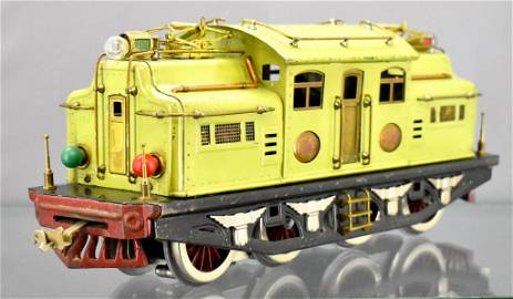 Lionel prewar standard gauge Apple Green 408E electric