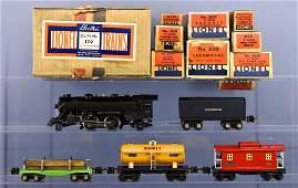 Scarce boxed Lionel prewar O gauge 139 steam freight