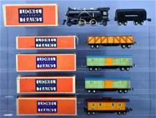 Lionel prewar O gauge steam freight set with 262E and