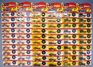 100 25th anniversary Hot Wheels die cast on sealed