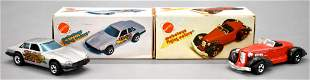 Pair of Hot Wheels Mebetoys die cast cars in original