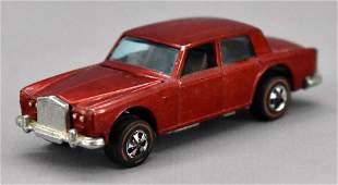 Redline Hot Wheels red HK Rolls Royce Silver Shadow