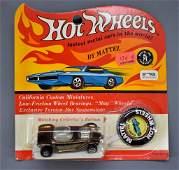 Redline Hot Wheels brown US Beatnik Bandit on a sealed