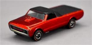 Redline Hot Wheels red US Custom Fleetside