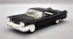 Rare solid black 1960 Jo-Han Dodge torsion dealer promo