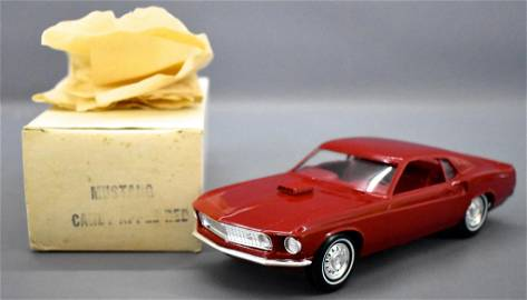 Rare 1969 Ford Mustang Mach I in original box Candy