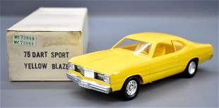 1975 Dodge Dart sport dealer promo car in original box
