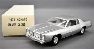 Mint 1977 Dodge Monaco dealer promo car in original box