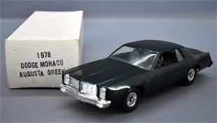 1978 Dodge Monaco dealer promo car in original box