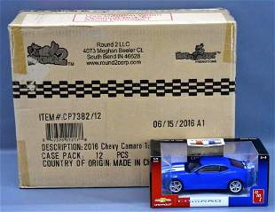 Factory sealed case of Round 2 LLC / AMT 2016 Chevy