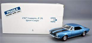 Danbury Mint 1967 Chevy Camaro Z/28 sport coupe die