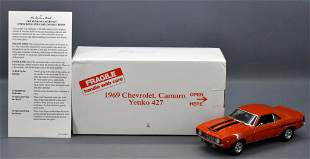 Danbury Mint 1969 Chevy Camaro Yenko 427 die cast in