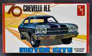 Mint unbuilt AMT 1970 Motor City Chevy Chevelle hardtop