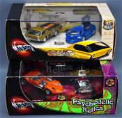 Two Hot Wheels Limited Edition two-car die cast box
