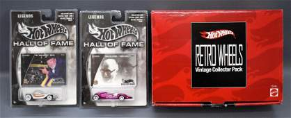 Hot Wheels Target Retro Wheels collector pack plus two