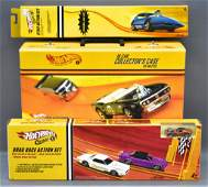 Hot Wheels Classics collectors case plus two factory