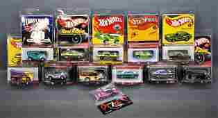 Great group of 12 Hot Wheels Redline Club cars on