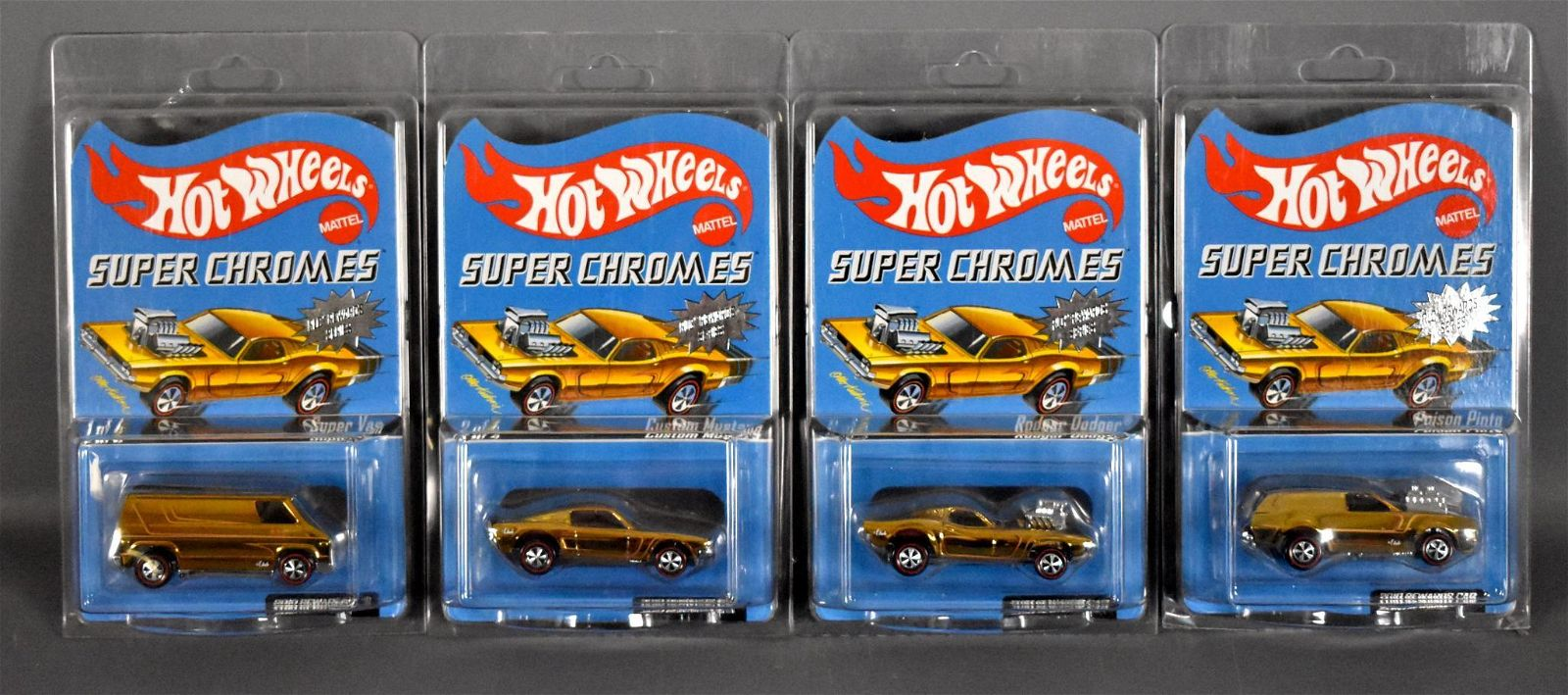 Hot Wheels Redline Club Super Chromes 2011 rewards set