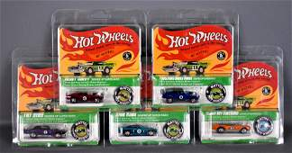 Hot Wheels Redline Club 2016 Spoilers set of five cars
