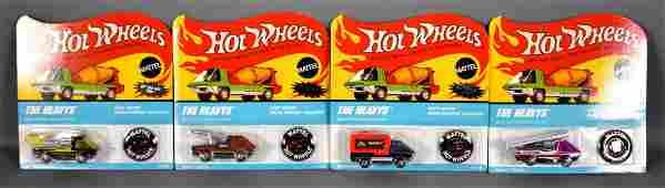 Hot Wheels Redline Club Heavyweights four car set MOC