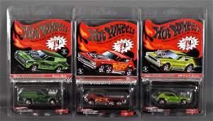 Three Hot Wheels Redline Club cars MOC