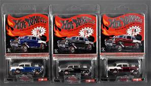 2016 Hot Wheels Redline Club '55 Bel Air gasser set MOC
