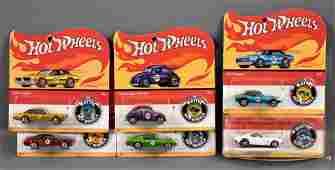 Hot Wheels 2017 50th anniversary redline button set MOC