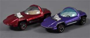 Two Original Redline Hot Wheels Beatnik Bandit