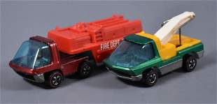 Two Original Redline Hot Wheels Heavyweights