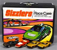 Original Hot Wheels Sizzlers Race case with Juice