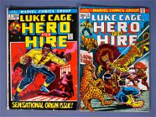 Marvel Hero For Hire Power-Man Luke Cage comic book