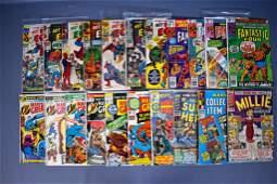 Twentyone mixed Marvel comic books Marvels Greatest