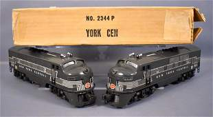 Lionel postwar O 2344 New York Central F3 AA diesel