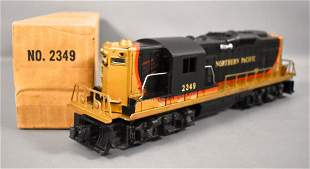 Lionel postwar O 2349 Northern Pacific GP-9 diesel