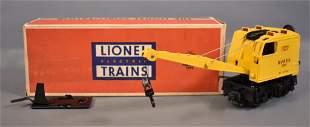 Lionel postwar O 3360 Burro crane in original box