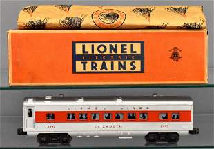 Tough Lionel postwar O gauge 2445 Elizabeth separate