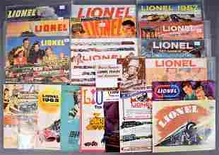 Large group of original Lionel postwar consumer