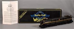 Weaver O scale brass 3-rail 5 stripe Pennsylvania GG-1