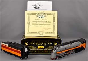 Weaver O scale 3-rail brass Milwaukee Road Hiawatha