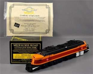 Weaver O scale 3-rail brass Milwaukee Road Little Joe
