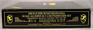 Weaver O scale 3-rail Milwaukee Road Hiawatha smooth