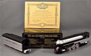 Weaver O scale 3-rail brass NYC 4-6-4 Hudson