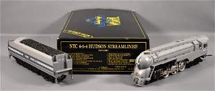 Weaver O scale 3-rail brass NYC 4-6-4 Dreyfuss PT
