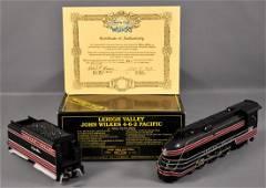 Weaver O scale 3-rail Lehigh Valley John Wilkes 4-6-2