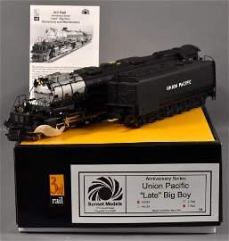 Sunset 3rd rail O scale 3 rail brass Union Pacific