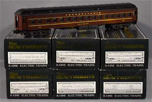 K-Line O gauge Pennsylvania Heavyweights passenger car