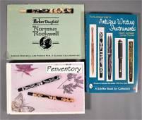 HUGE LOT of Books, Pen Cases, Pen Folios, Pens
