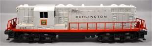 Lionel postwar O 2328 Burlington GP-7 diesel locomotive